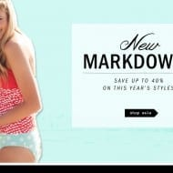 50% off Lime Ricki swimwear