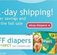 Diapers.com coupon – 10% off