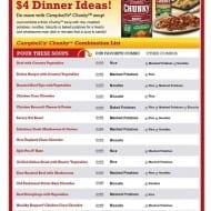 $4 dinner ideas!