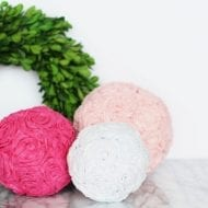How To Make Tissue Pomander Balls