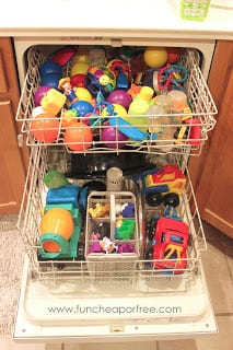 De-germ with your dishwasher