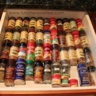 Spice Drawer Organization!