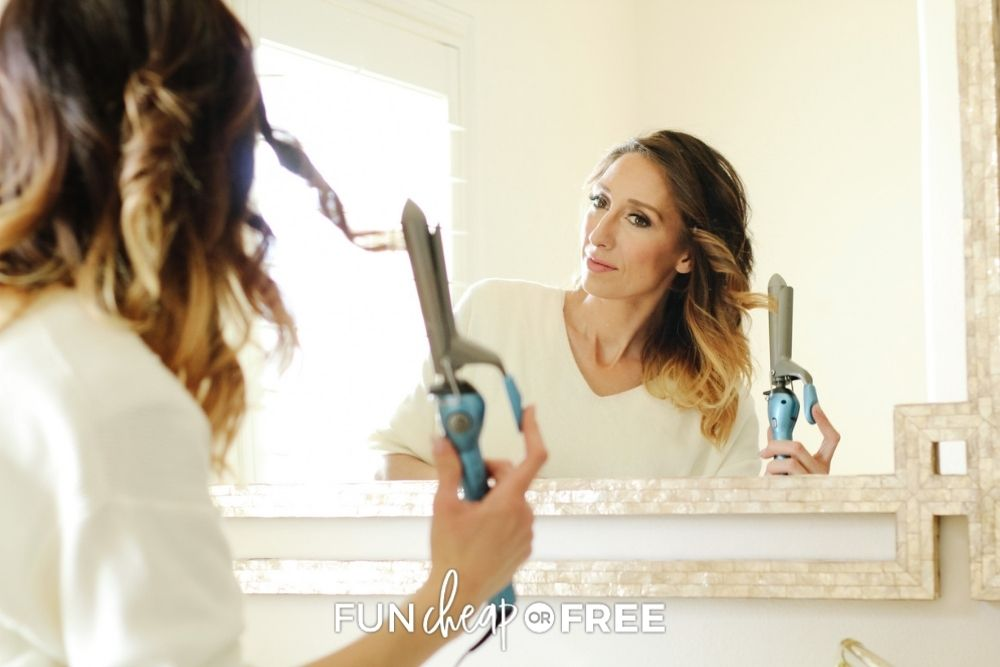 Jordan page curling hair, from Fun Cheap or Free