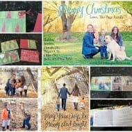 My DIY (FREE!) Christmas cards