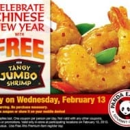 FREE Panda Express coupon today only! (Feb 13)