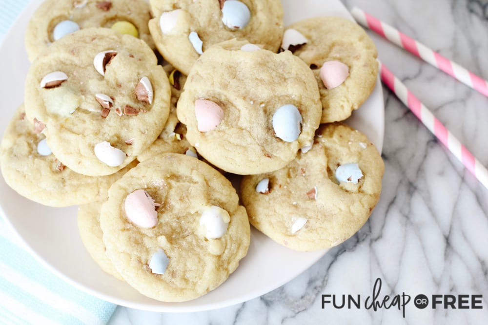 Chocolate Chip Cookie Recipe Plus Leftover Easter Candy from Fun Cheap or Free