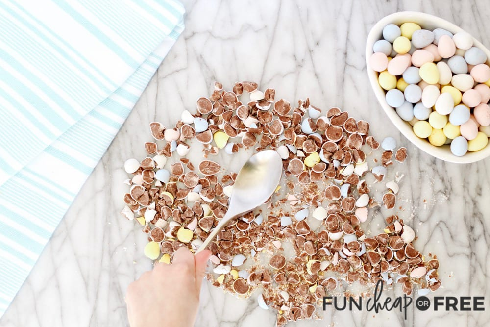 Leftover Easter Candy Chocolate Chip Cookies from Fun Cheap or Free