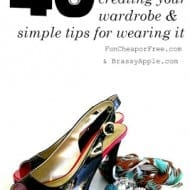 40 tips for creating your wardrobe