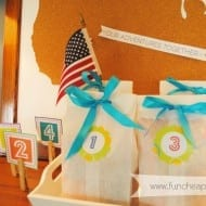 Summer goodie bags for kids, free printable included!