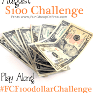 Introducing…August $100 Dollar Challenge!
