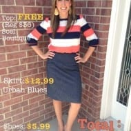 What to Wear Wednesday: Frugal Fashion Breakdown – Sunday Stripe..