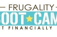 Announcing…Frugality Boot Camp $25 spouse pass!