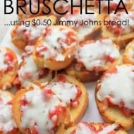 Quick and Easy Bruschetta Recipe (…like, 10 minutes, easy!)