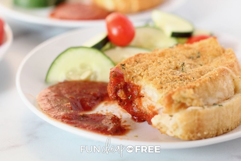 baked Italian sandwiches, from Fun Cheap or Free