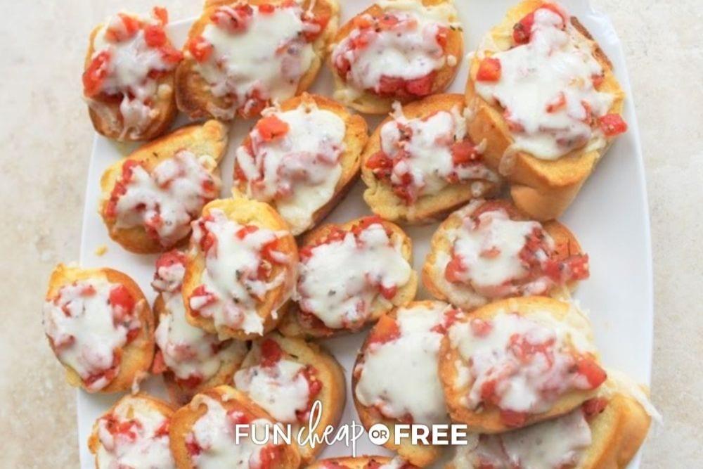 easy homemade bruschetta, from Fun Cheap or Free