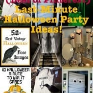Last-minute Halloween party ideas for the busy procrastinator! The Bes..