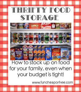 HOW TO BUILD UP FOOD STORAGE & A STOCKPILE, ON A BUDGET