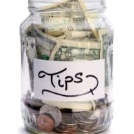 How to budget on a tip-based or varying income