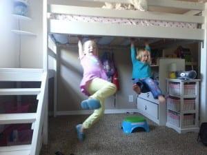 diy twin loft bed for under 100. Black Bedroom Furniture Sets. Home Design Ideas