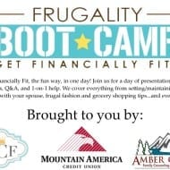 Meet our Frugality Boot Camp team!