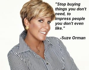 Stop buying things to impress people.