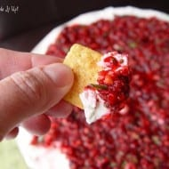 (Most amazing) Cranberry Cream Cheese Chip-Dip Recipe