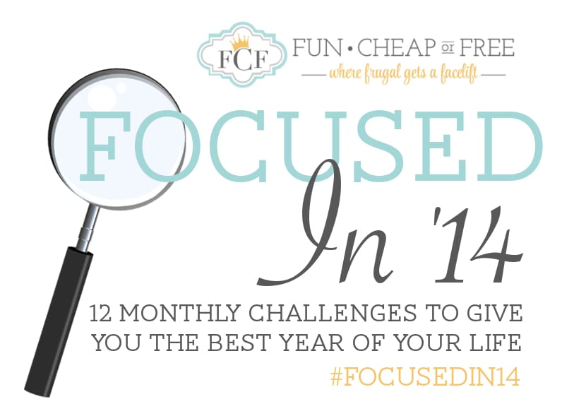 focused in 14 logo