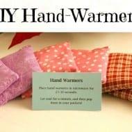 DIY Hand-Warmers