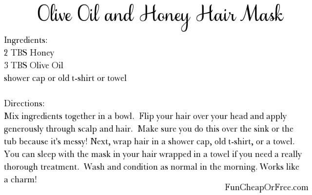 Hair Mask Treatment Recipe