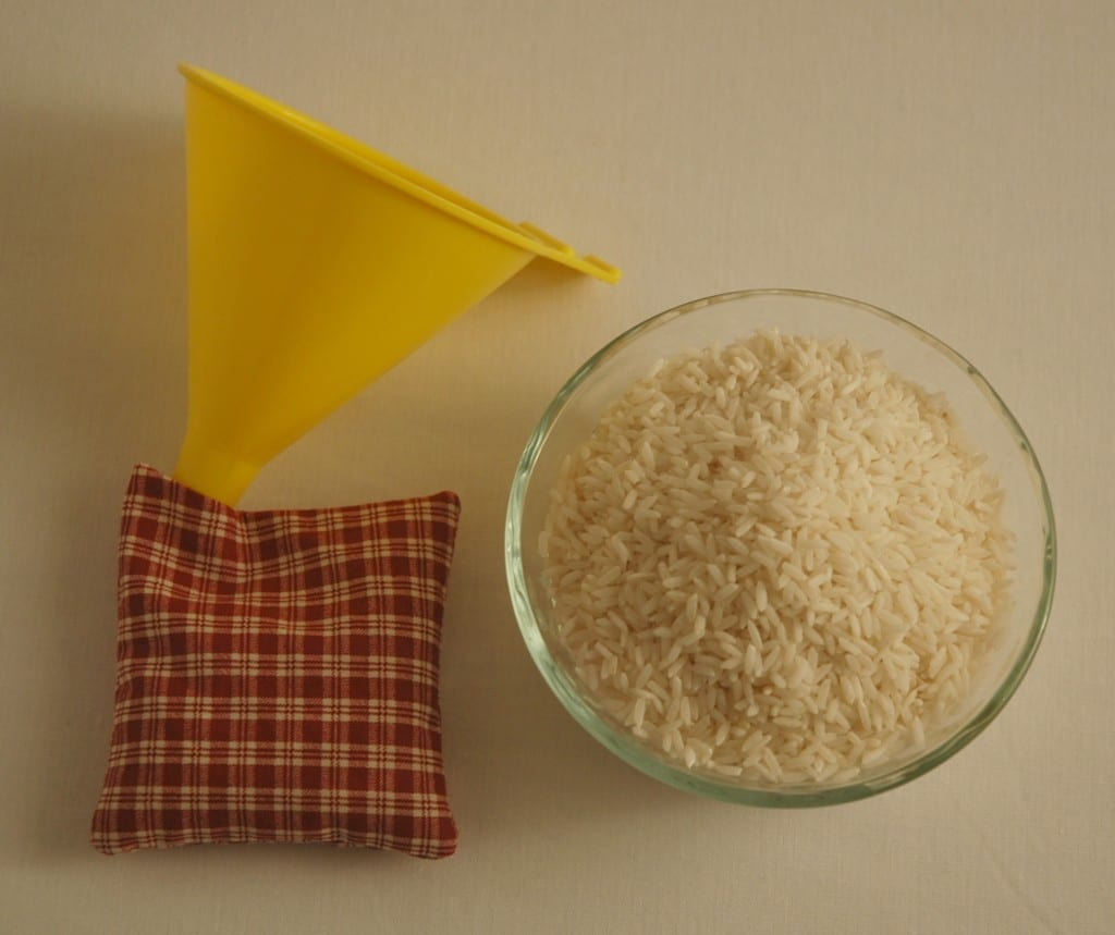 Hand Warmers Filled with Rice