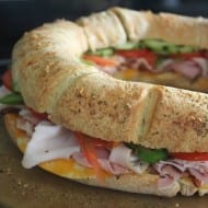 Super Bowl Sandwich Ring Recipe