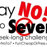 """Say No to 7"" Challenge + spending freeze week recap"