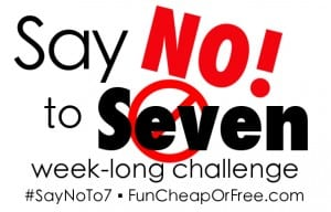 Say No To 7 Challenge