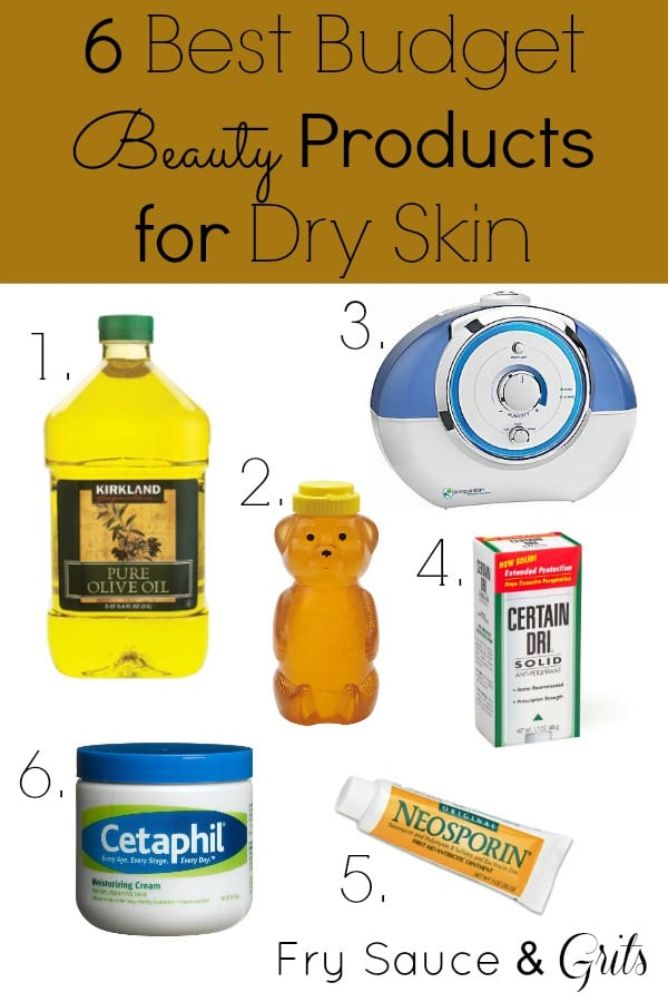Budget Beauty Products for Dry Skin