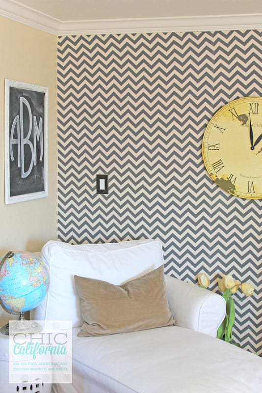 Cover Your Walls In Fabric : Starch fabric removable faux wallpaper fun cheap