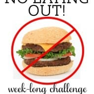 "NO EATING OUT Week! + ""Say no to 7"" challenge recap"