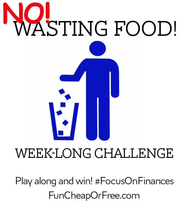 no wasting food week