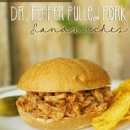 Slow Cooker Dr. Pepper Pulled Pork Sandwich Recipe