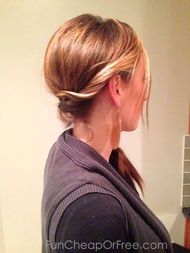 The Easy Twisted Side-Braid - great lazy-day hair.