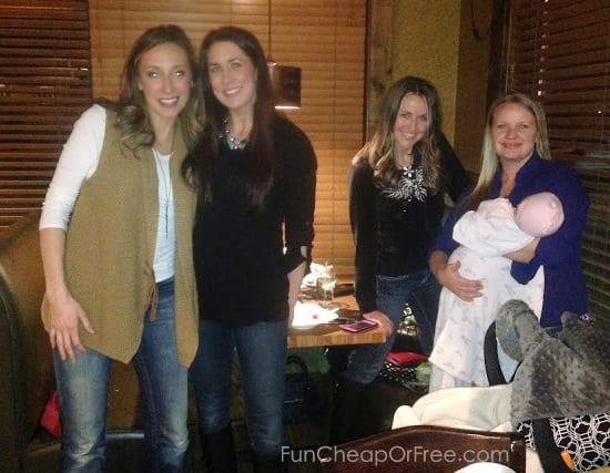 Thanks for a fun night, ladies!