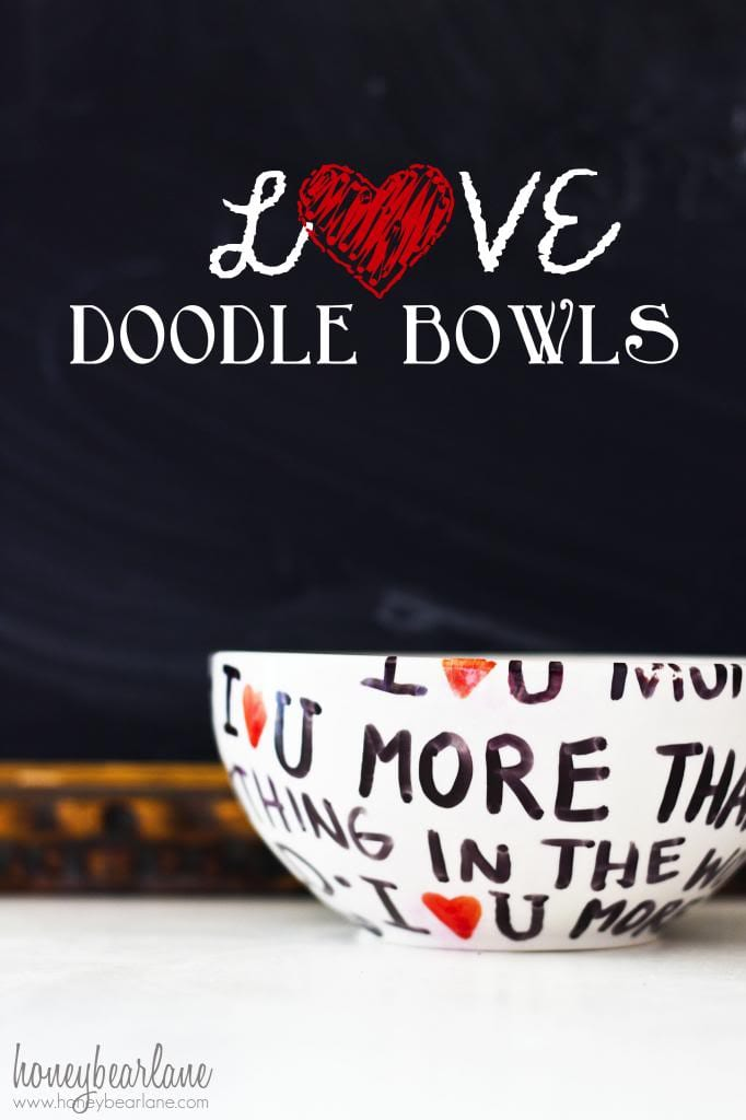 DIY Valentine's Day Love Bowl Gift