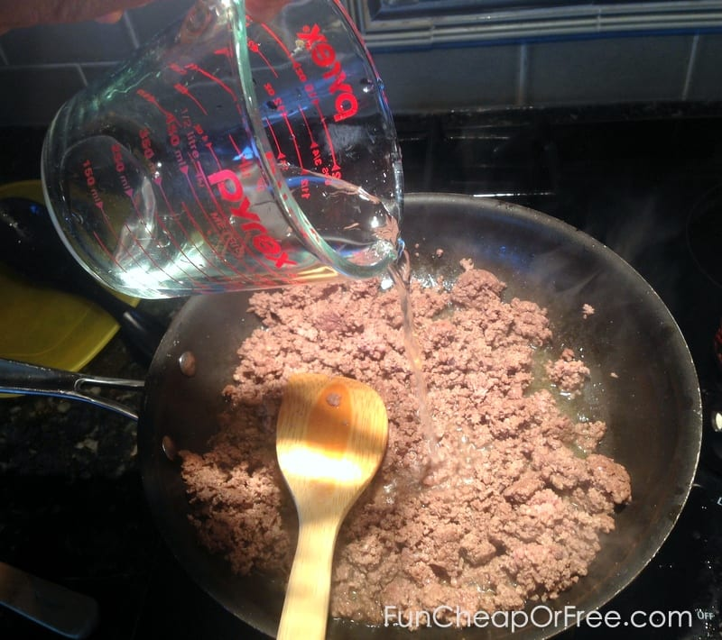 How to make your ground beef leaner!