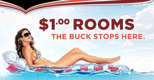 LVH Las Vegas Hotel $1 deal
