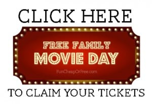 Free family movie day!