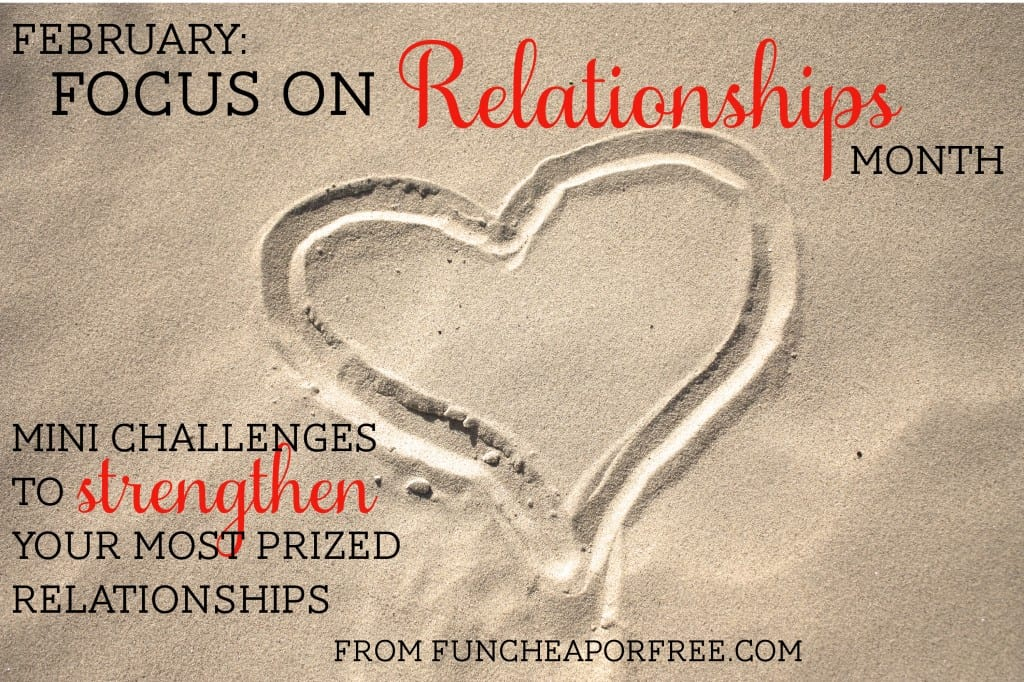 focus on relationships month