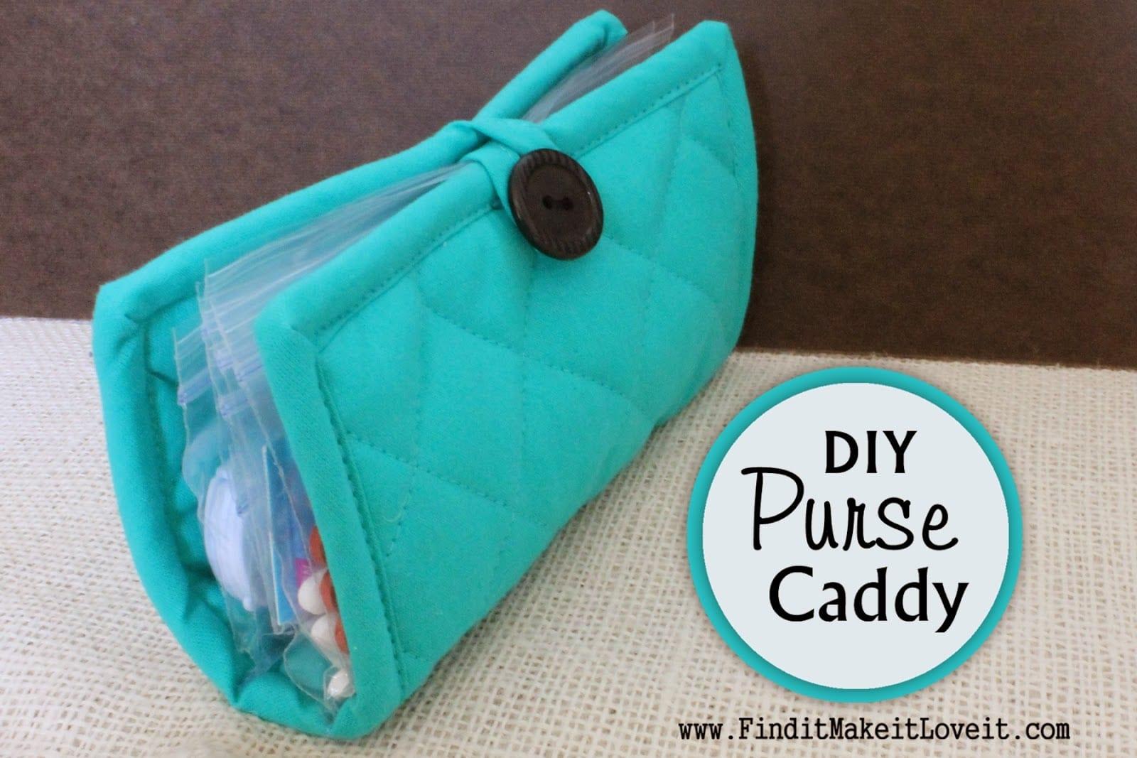 Diy Pot Holder Purse Caddy Fun Cheap Or Free