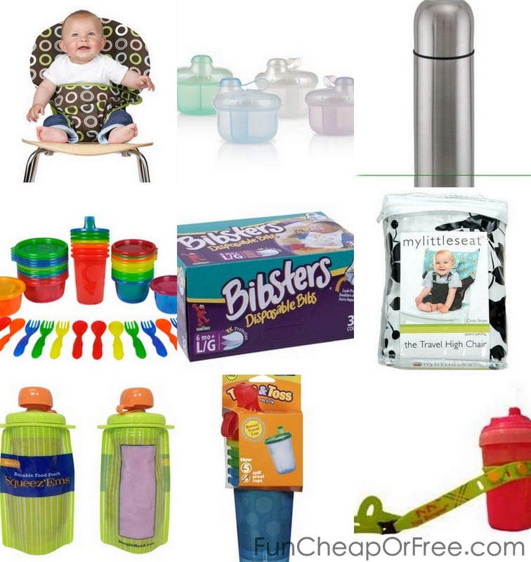 traveling with baby - feeding must-haves!