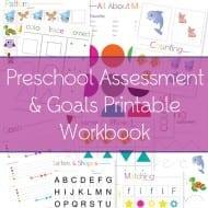 FREE Printable Preschool Assessment Workbook