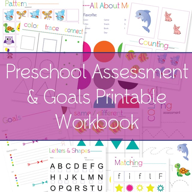 graphic relating to Preschool Assessment Forms Free Printable named Cost-free Printable Preschool Analysis Workbook - Pleasurable Economical or No cost