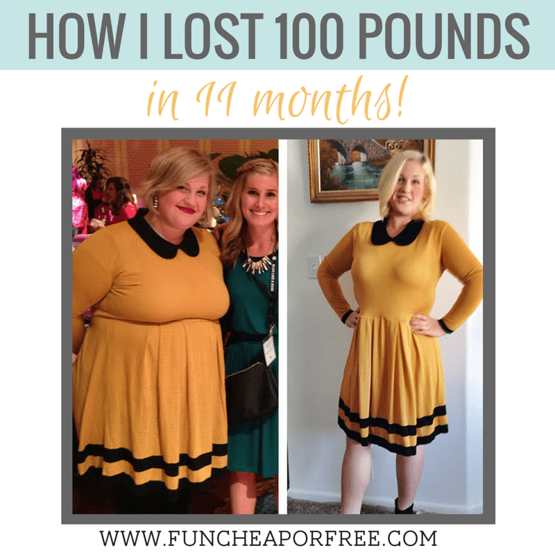How I lost 100lb in 11 months